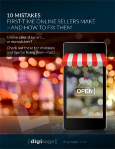 10 Mistakes online sellers make free PDF guide